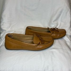 Cole Haan Cognac Driving Loafers